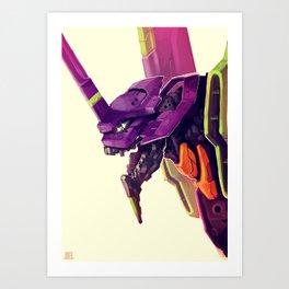 Eva 01 Art Print