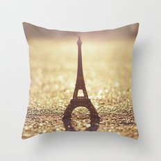 Paris, City of Light Throw Pillow