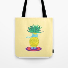 Pineapple Ellie Tote Bag