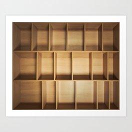 empty closet Art Print