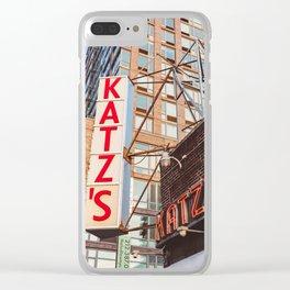 Katz Clear iPhone Case