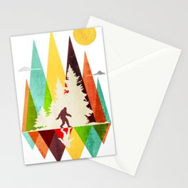 Bigfoot Mountian Stationery Cards