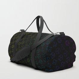 D&D Dice Pattern Duffle Bag