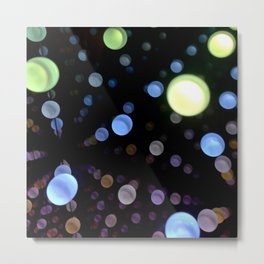 Shiny spheres | 2 Metal Print