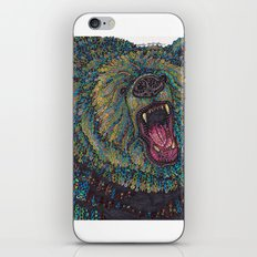 GRRR-IZZLY iPhone & iPod Skin