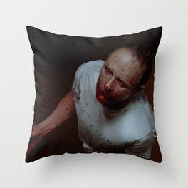 Dr. Lecter Throw Pillow