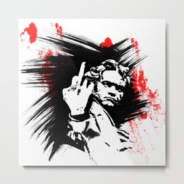 Beethoven FU Metal Print