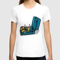 swedish T-shirts featuring Retro Swedish Camp Stove by mailboxdisco