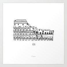 Roma Art Print