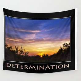 Inspirational Determination Wall Tapestry