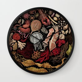 Intertidal Life of the North Atlantic (with species list) Wall Clock