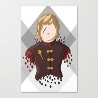 lannister Canvas Prints featuring Tyrion Lannister by itsamoose