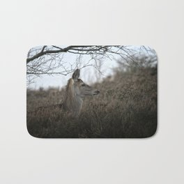 Camouflage Wild Red Deer Bath Mat