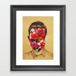that face Framed Art Print