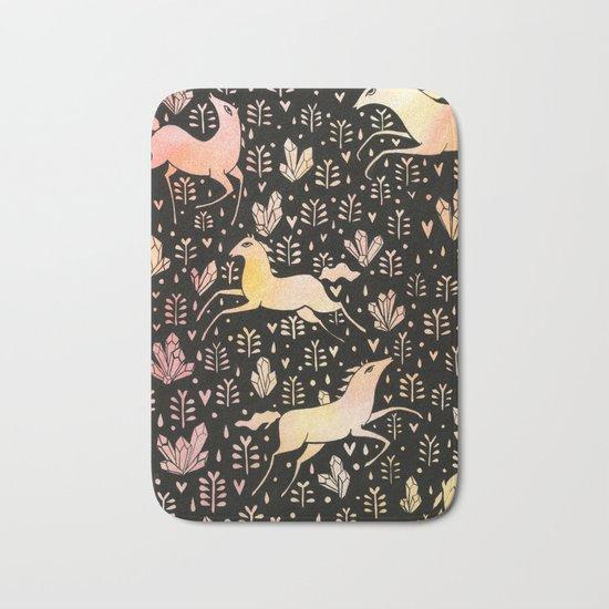 Marshmallow ponies Bath Mat