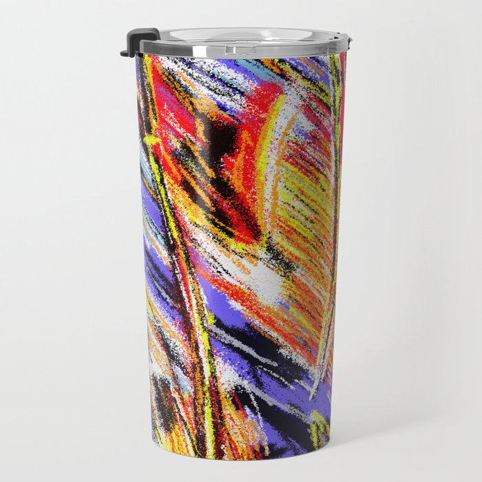 Matt Texture 4 - Dawn Travel Mug