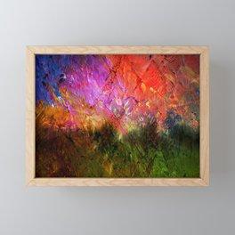 Abstractart : Distance Framed Mini Art Print