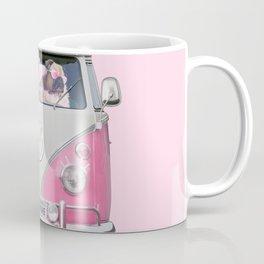 Pug Girly Adventure Coffee Mug