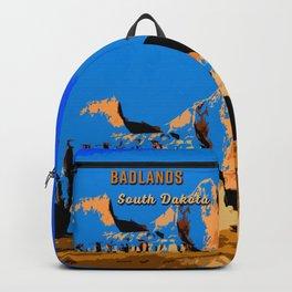 Visit Badlands Retro Postcard Backpack
