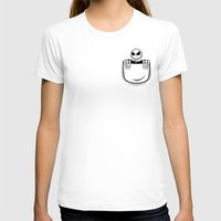 jack skellington T-shirts featuring Jack Skellington pocket by Buby87