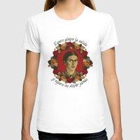 frida T-shirts featuring FRIDA by badOdds