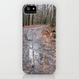 The Road Not Taken iPhone Case