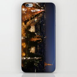 Paris from the Arc iPhone Skin