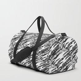 Alien Troops - Black & White Duffle Bag