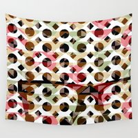glasses Wall Tapestries featuring Glasses by Mr and Mrs Quirynen