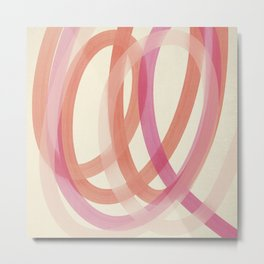 Valentine #1 - Abstract Art Print Metal Print