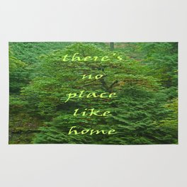 there's no place like home Rug
