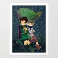 hunter x hunter Art Prints featuring Hunter x Hunter by Peachy-Prince