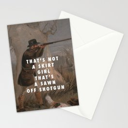 Suck it and Shoot Stationery Cards