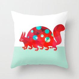 Oddities 2 - Tortoisquirrel Throw Pillow