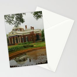 Morning At Monticello - Jeffersons Home Stationery Cards
