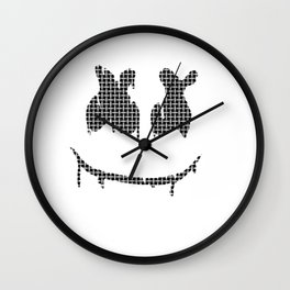 marshmello happy Wall Clock