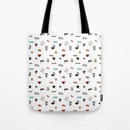 Pattern of Klaine things Tote Bag