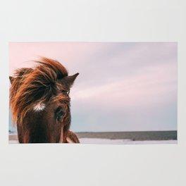 Horse #sunset Rug