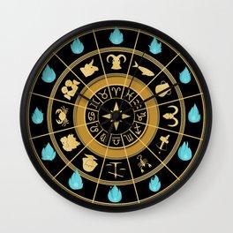 Saint seiya clock Wall Clock