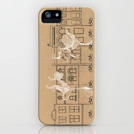 Queen Street Canvas iPhone Case