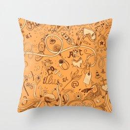 Illustra Throw Pillow
