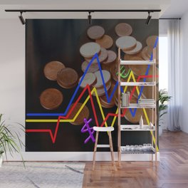 exchanges play Wall Mural