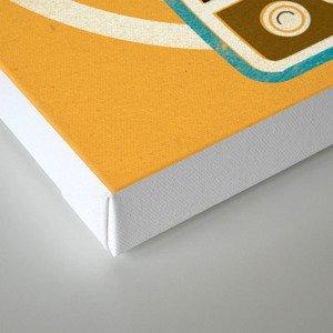 Mixed Signals - Yellow Canvas Print