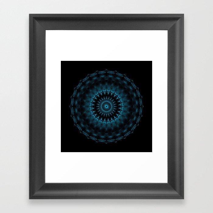 Snowflake #005 solid Framed Art Print