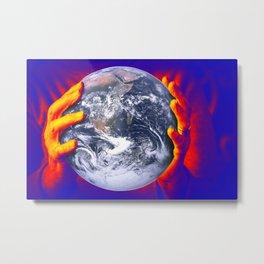 Global warming Metal Print