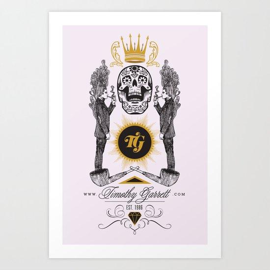TG - Fume Art Print