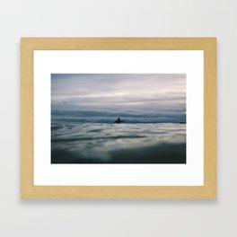 Ocean Surf II Framed Art Print