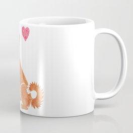Watercolour Nova Scotia Duck Tolling Retriever Coffee Mug