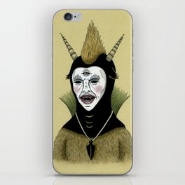 Creature with Black Amulet  iPhone Skin