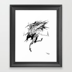 The Enchanter Framed Art Print